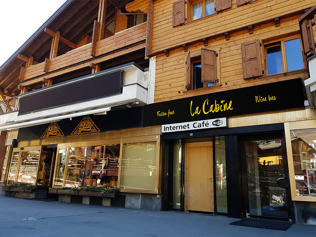 La Cabina Bar : Accueil the place to be verbier